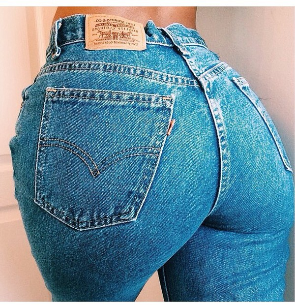 Old School High Waisted Jeans - Shop for Old School High Waisted