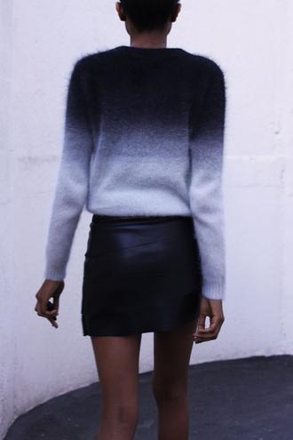 cardigan pullover shade black shades grey wool cozy