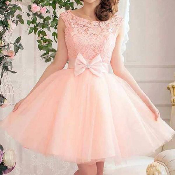 20cb16d981 dress tulle dress tulle skirt light pink pale pink dress bow bow dress lace  lace dress.