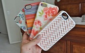 jewels,iphone 5 case,phone cover,floral,chevron