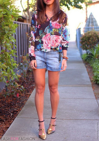 blouse floral summer outfits beach blue tunic