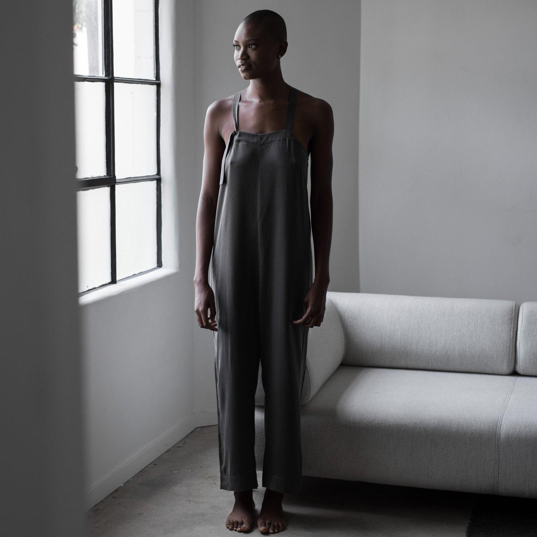 Washable Silk Jumpsuit
