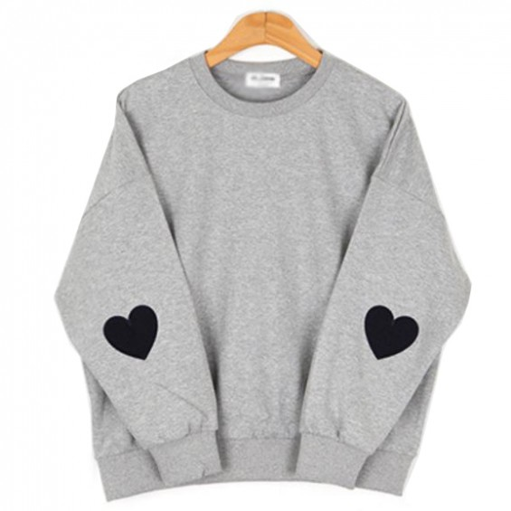 BOOGZEL | Jumper With Heart Elbow Patch