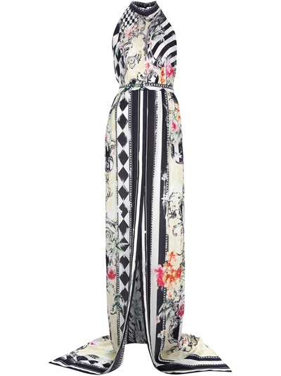 Balmain Halterneck Dress -  - Farfetch.com