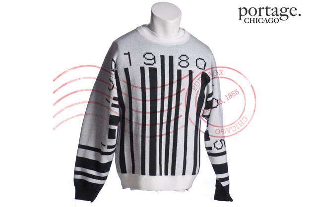 JEREMY SCOTT BARCODE SWEATER MED ($349.99) - Svpply