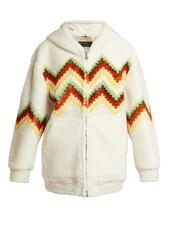 jacket,shearling jacket,cream