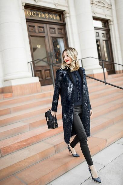 ivory lane blogger jacket sweater pants shoes bag make-up