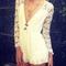 Lovegirl lace playsuit  - juicy wardrobe