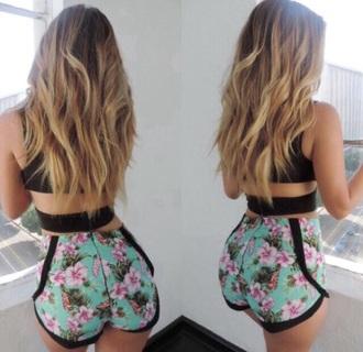 shorts funny girly this exactly floral short shorts