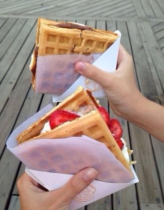 food waffles lifestyle