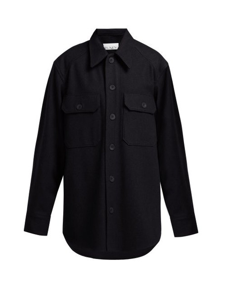 jacket wool jacket navy wool