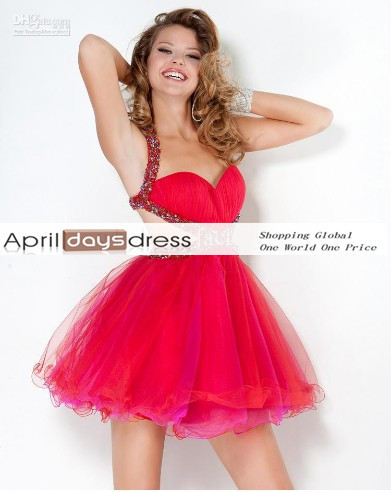custom made Homecoming Dresses Red Organza Mini Sexy dresses Cocktail Dresses Homecoming Dresses yyytxh206-in Homecoming Dresses from Apparel & Accessories on Aliexpress.com