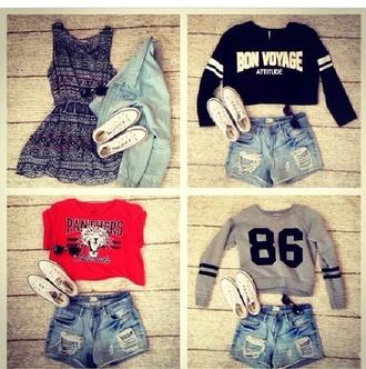 t-shirt skirt shorts jacket sweater shoes dress shirt top cardigan tank top blouse