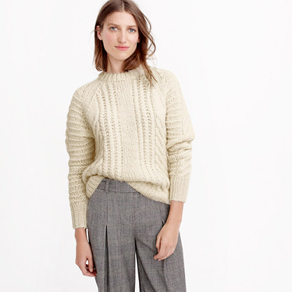 0611bc54f Collection chunky cable sweater