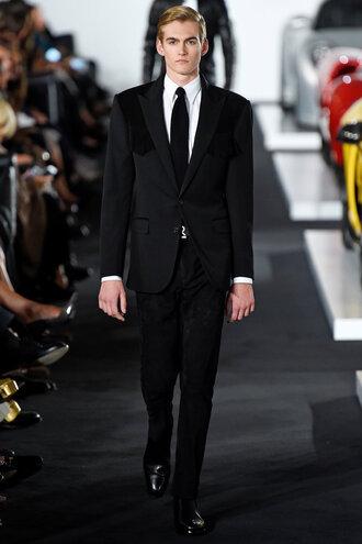 pants mens suit suit menswear mens blazer mens shirt runway nyfw 2017 ny fashion week 2017 ralph lauren