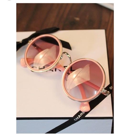 sunglasses pink sunglasses chanel chanel sunglasses