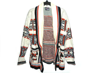 sweater indie 60s 70s 80s tribal jacket vintage hippie chic bohemian cute oversized sweater native american thick sweater hipster oversized cardigan aztec sweater