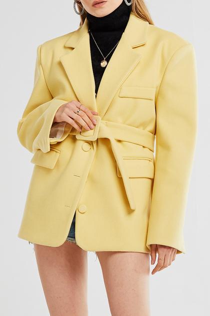 Louna Oversize Belted Jacket