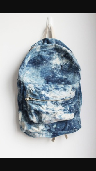 bag book bags school bag cute bag backpack denim backpack
