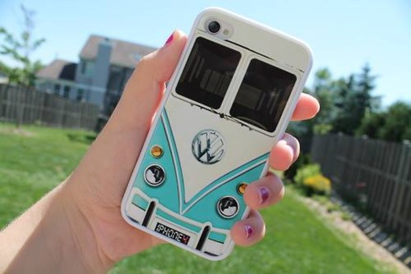 jewels coque iphone phone cover volkswagen iphone 4 case iphone 4/4s phone cover phone into the wild car phone cover phone cover van vw bus tights blue white