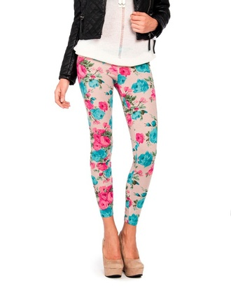 leggings foral floral leggings