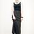 Black & blue skirt - Pop Sick Vintage