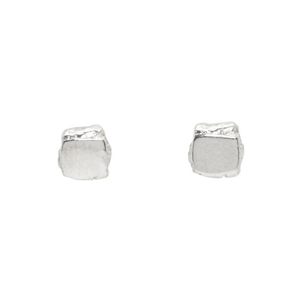 Pearls Before Swine Silver Small High Polished Stud Earrings