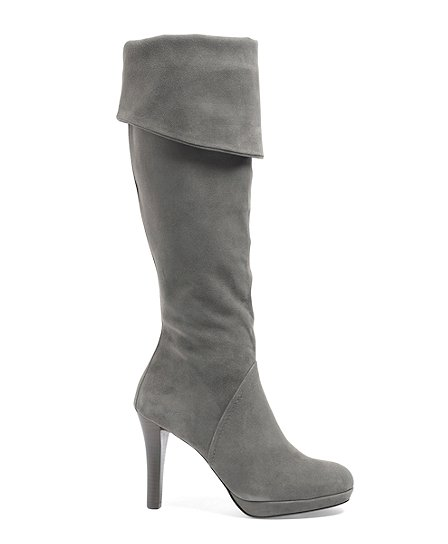 Knee-High Platform Boots - Brooks Brothers