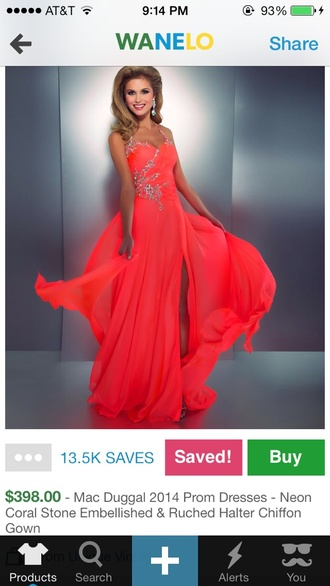 dress neon neon dress prom dress long prom dress orange dress sequins silver sequins