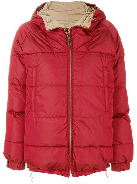 'S Max Mara jacket down jacket women red