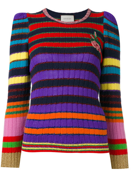 jumper long metallic women wool sweater