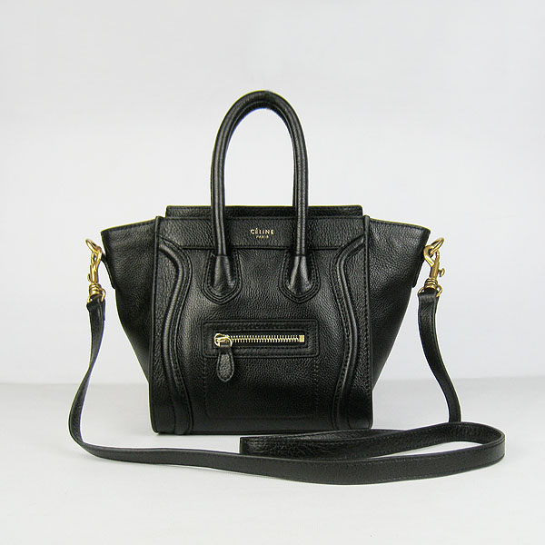 Boston Leather Handbags In Black [Celine Boston Leather Handbags] - $309.99 : Celine Bag