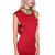 Off The Deep Side Cut Out Dress in Red | Sweet Rebel