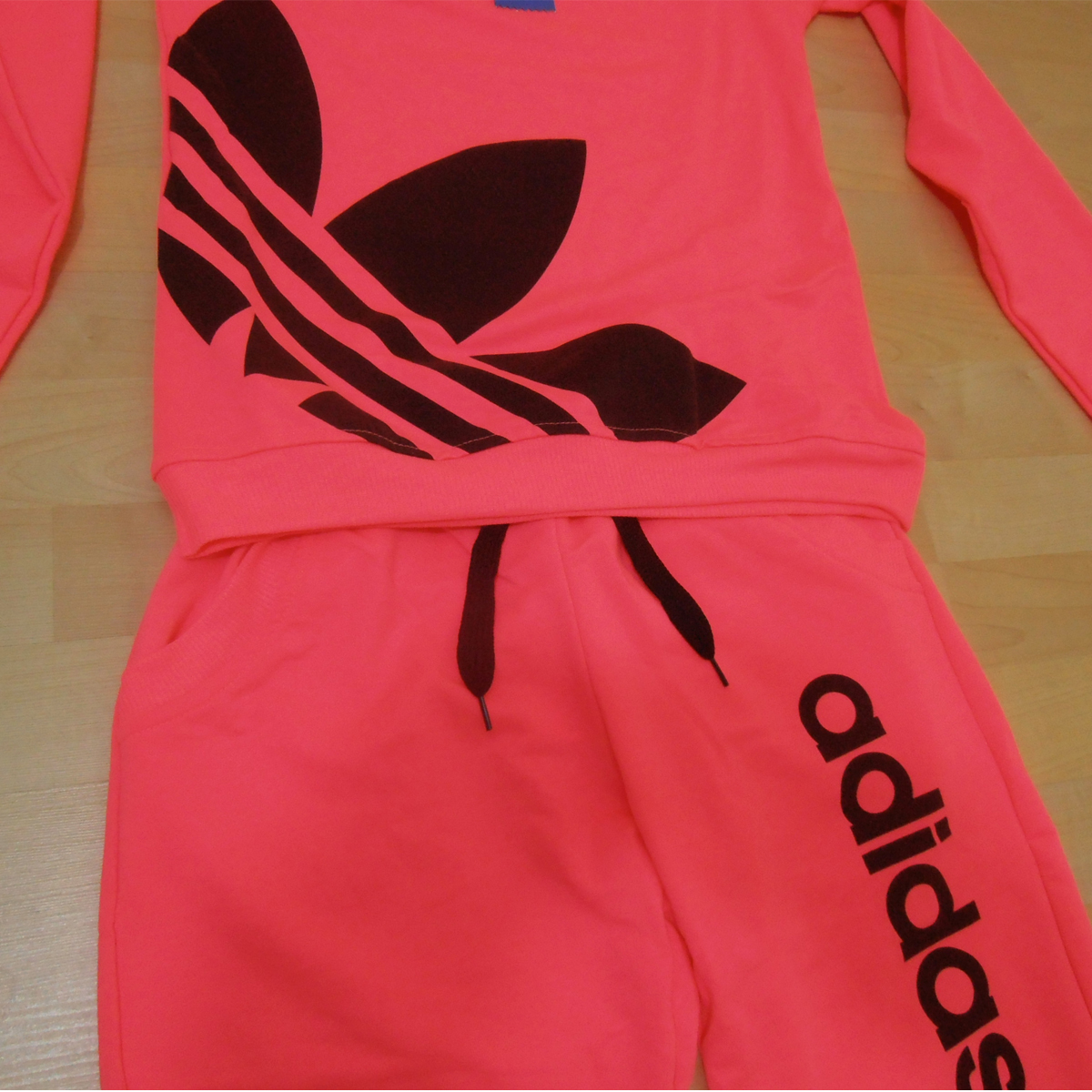 Adidas Neon Color Women Tracksuit - Athletic Apparel