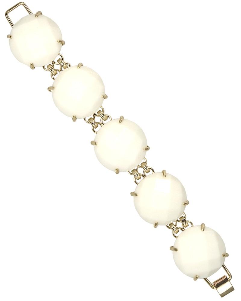 Cassie Bracelet in White - Kendra Scott Jewelry