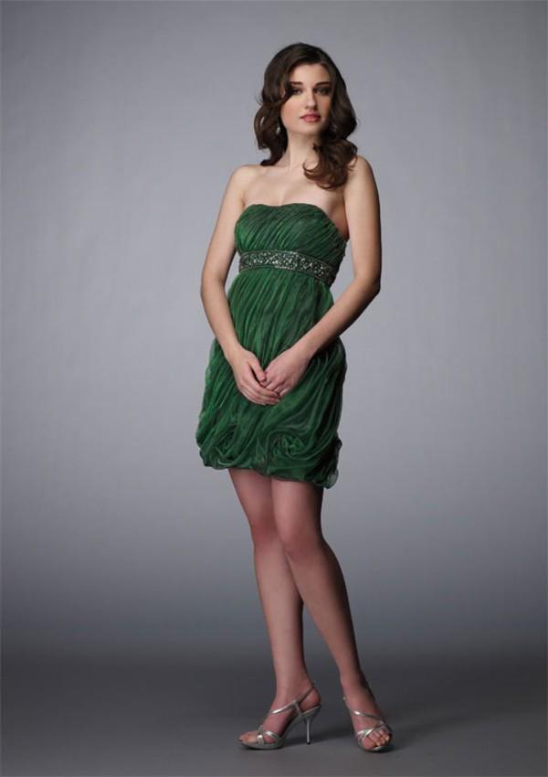 cocktail dress green dress