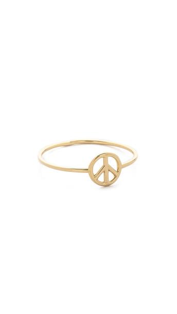 Aurélie Bidermann Fine Jewelry peace ring gold jewels