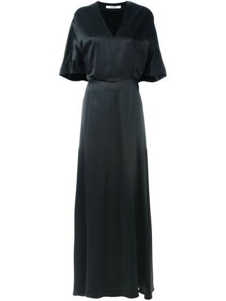 gown long black dress
