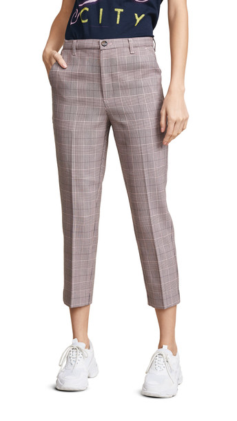 5214dfcbf0b Ganni Suiting Pants in pink / silver - Wheretoget