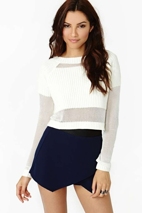 sweater shorts skirt