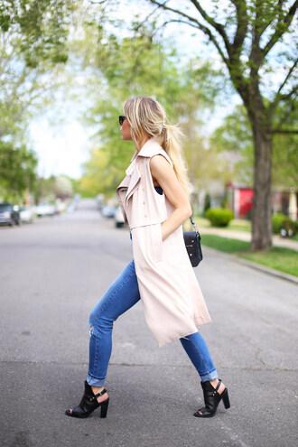 happily grey coat t-shirt shoes bag sunglasses