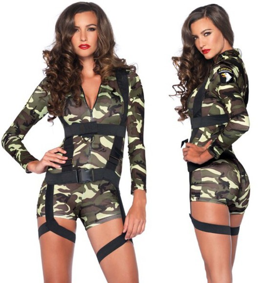 military jumpsuit costume armt