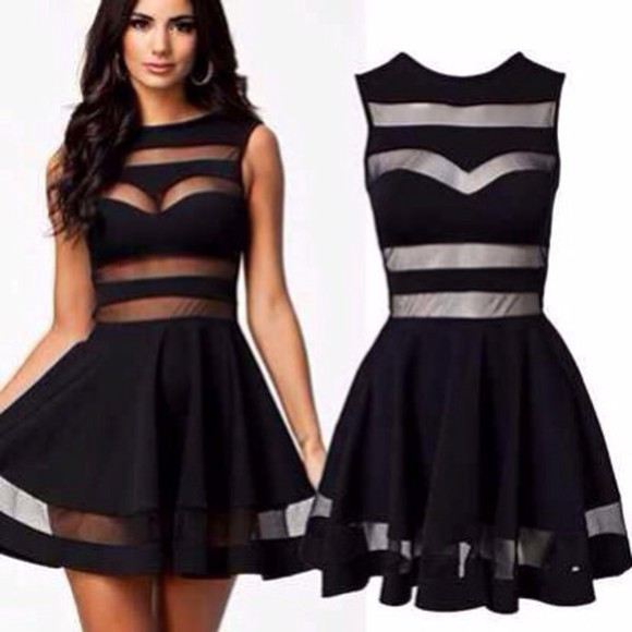 dress striped dress little black dress cute dress little black dress party dress