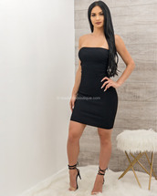 dress,moda fina boutique,jenna open back cross strap ribbed mini dress
