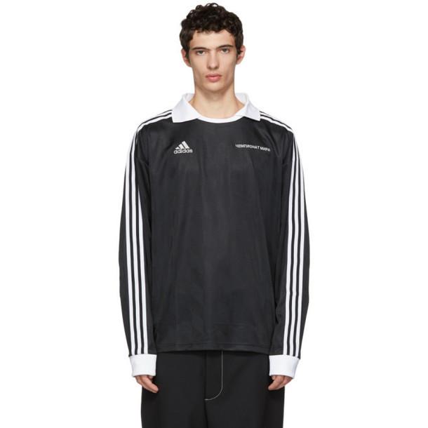 Gosha Rubchinskiy Black adidas Originals Edition Jersey Shirt