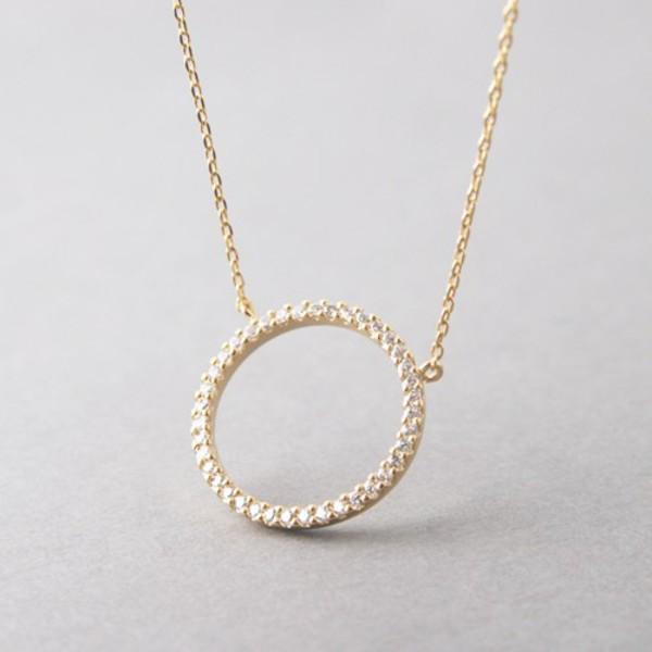 jewels circle pendant barbados symbolic necklace diamonds gold silver pendant