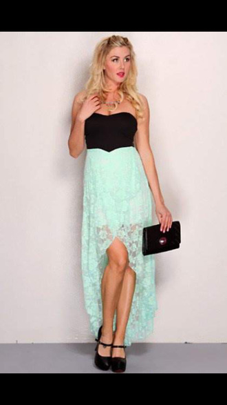 dress lace dress lace mint mini skirt black dress high low dress prom dress
