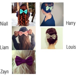 hair bow hair accessories one direction girl women
