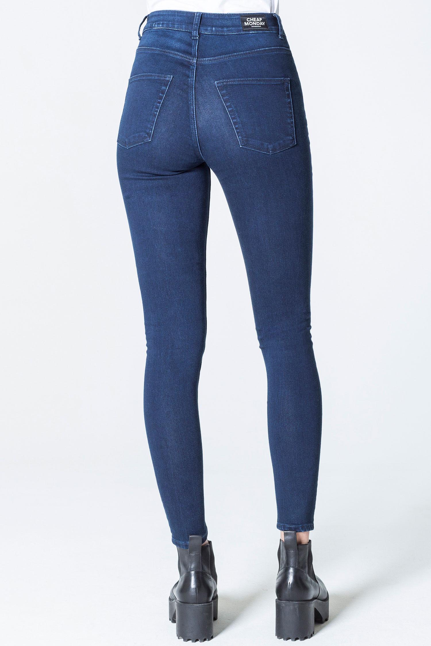 Cheap Monday Image 1 of Revive Vintage Black Jeans in Vintage Black … 91e75c73a1c