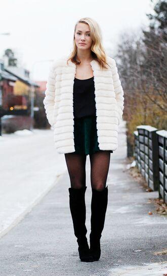 petra karlsson jacket skirt shoes t-shirt